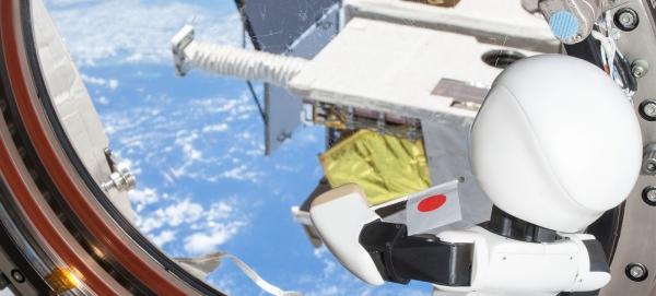 Kirobo en el espacio