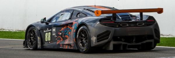 Un McLaren MP4 12C GT3 en Spa
