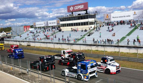 camiones en Jarama GP del Camión de España 2013