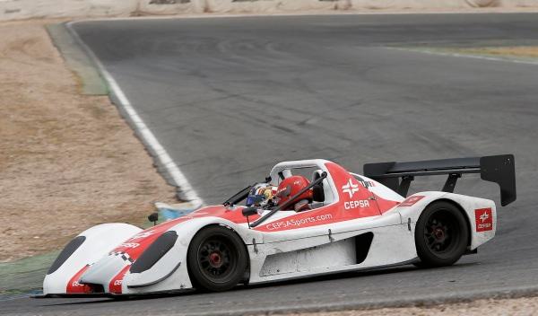 Carlos Sainz Jr vuelta rápida en biplaza