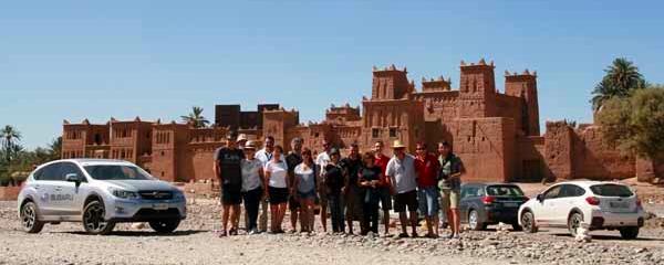 Subaru Grand Tour en la Kasbah Amridil