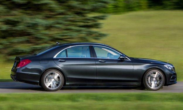 Mercedes Clase S 2013 perfil