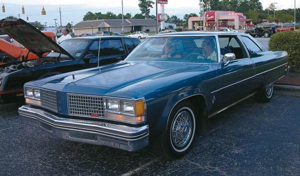 Oldsmobile 98 diesel frontal