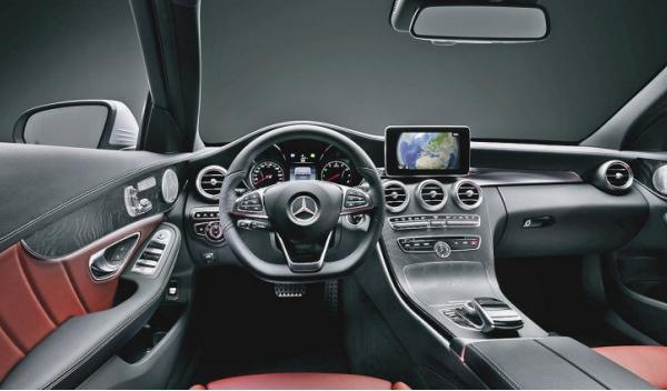 Revelado el interior del mercedes clase c 2014 for Interior clase a