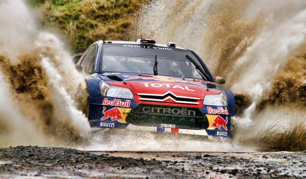 Citroen C4 WRC Loeb