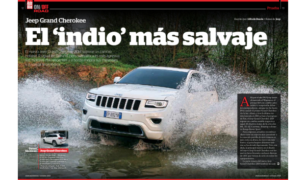 Auto Bild On Off Road prueba de conduccion