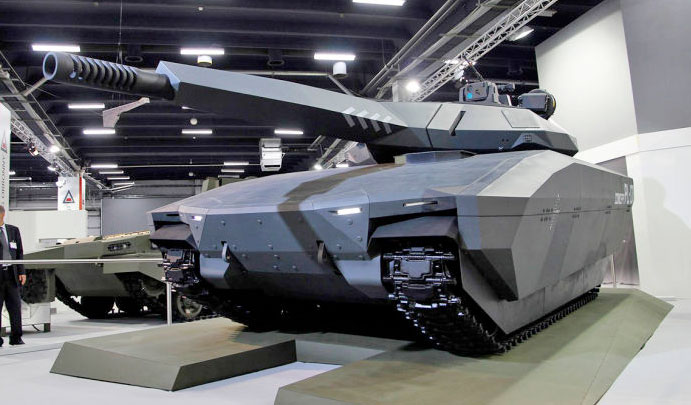 los tanques del futuro