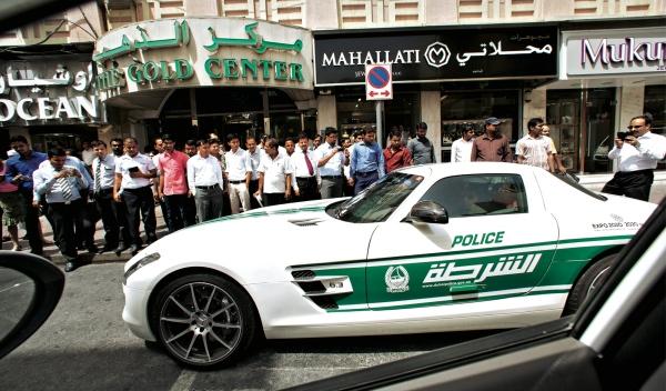 Espectación Policía Dubai