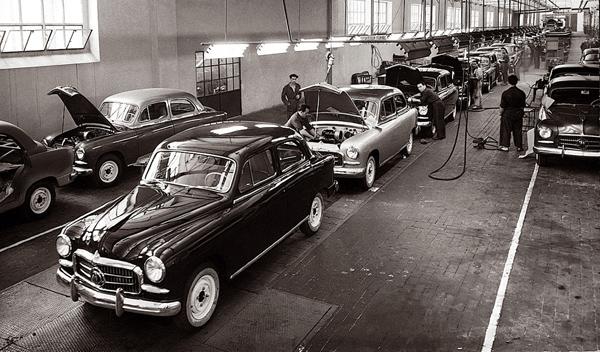 SEAT 1400 cadena de montaje