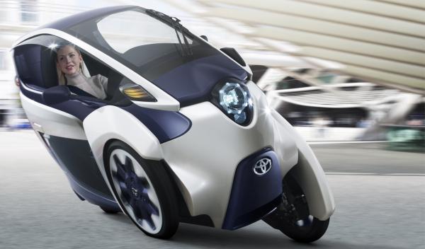 El Toyota i-Road