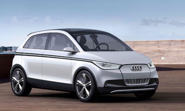 Audi A2 concept delantera