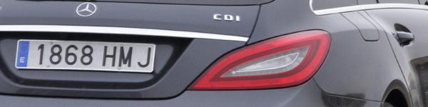 Mercedes CLS Sooting Brake