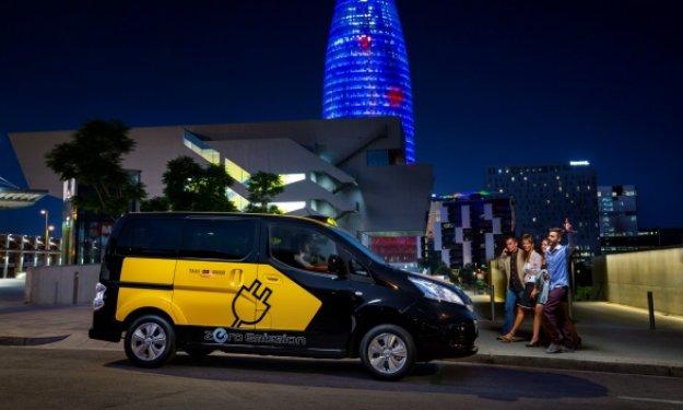 Nissan e-NV200 Barcelona