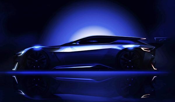 Teaser del prototipo de Subaru para Vision Gran Tursimo de GT6