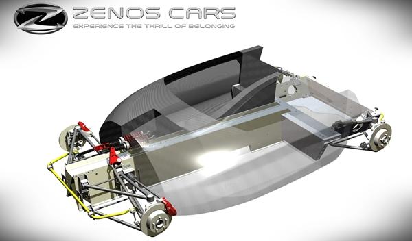 La arquitectura del Zenos E10