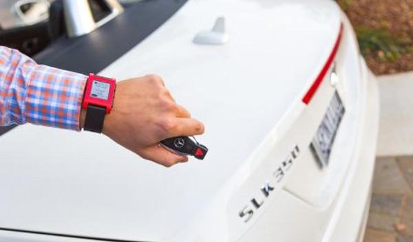 Mercedes reloj