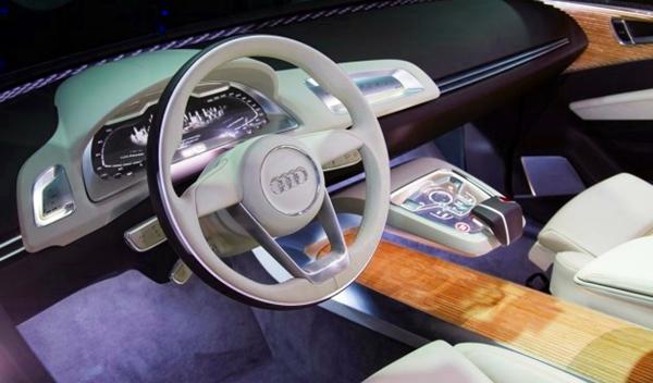 Proyecto de iluminación interior para futuros modelos Audi, presentado en el CES 2014