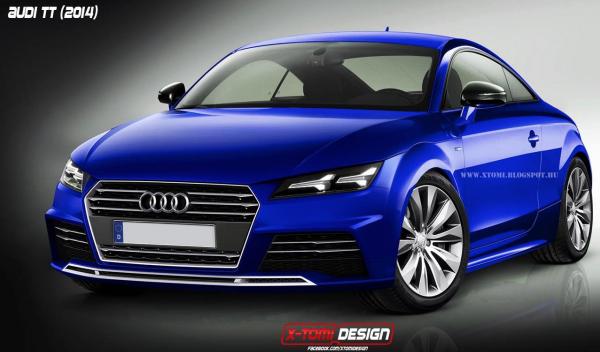 Render Audi TT 2015