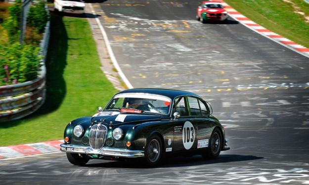 Jaguar clásico Nürburgring