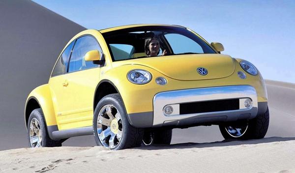 El Volkswagen New Beetle Dune del año 2000