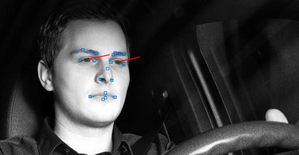 Cámaras que monitorizan el rostro