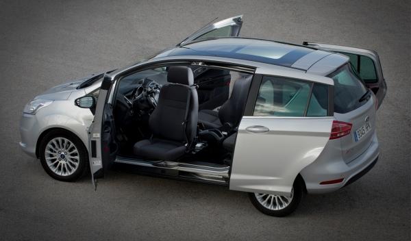 Plan adapta veh culos ford adaptados para discapacitados - Coches con puertas correderas ...