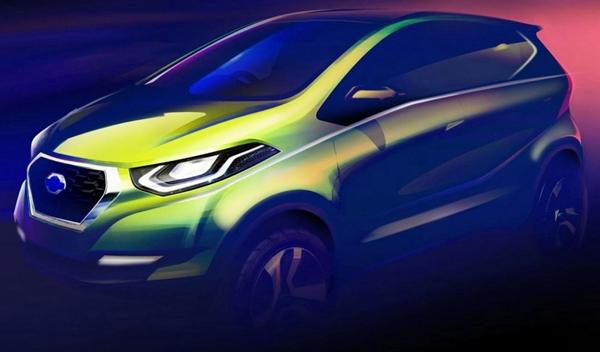 El Datsun i2 Concept que debutará en el Delhi Auto Expo