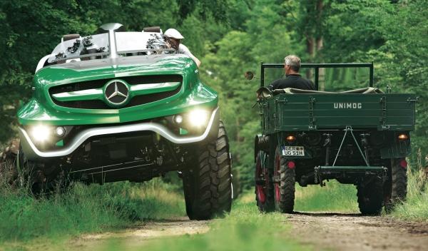Mercedes Unimog Concept: más allá del todoterreno ...