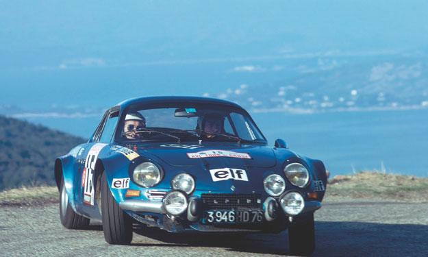 Alpine A110 curso regularidad auto bild