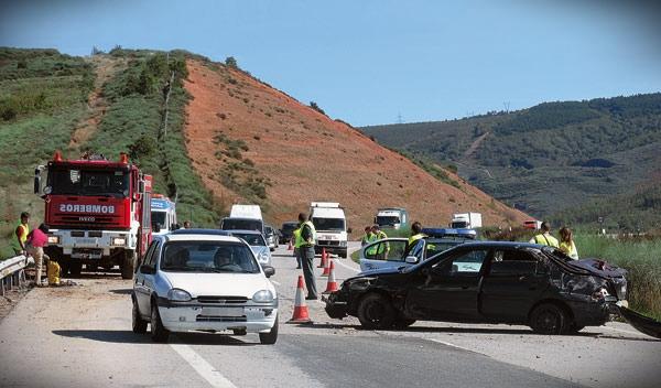 Localizadas las carreteras más peligrosas de España