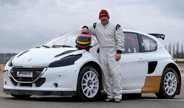 Jacques Villeneuve Peugeot 208
