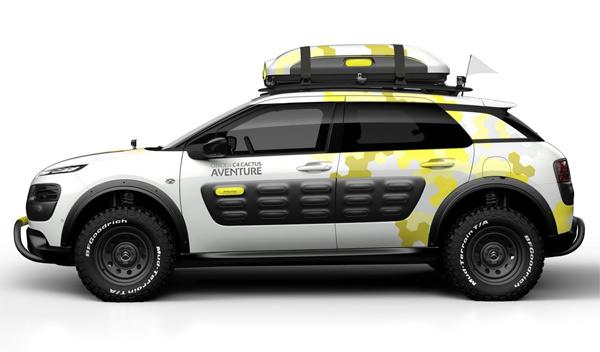 Citroën C4 Cactus Aventure - novedades Salón Ginebra 2014