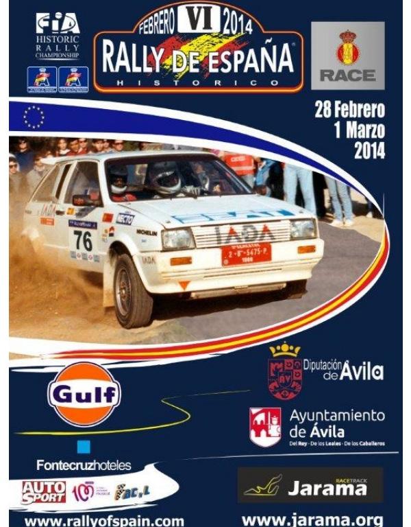Rally España Históricos 2014 cartel