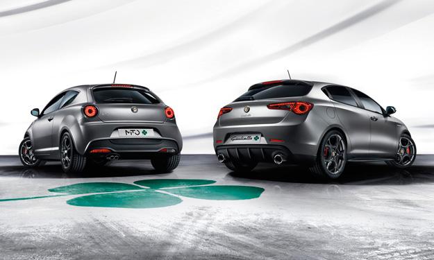 Alfa Romeo MiTo y Giulietta Quadrifoglio Verde trasera