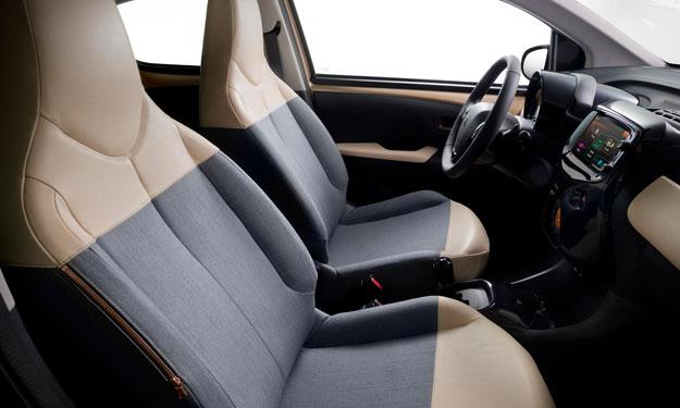 Peugeot 108 Tattoo concept interior