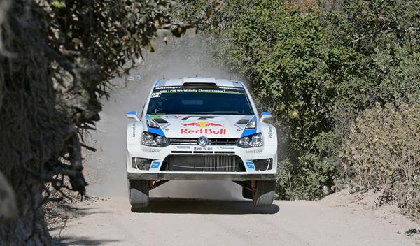 Rally Mexico Ogier VW