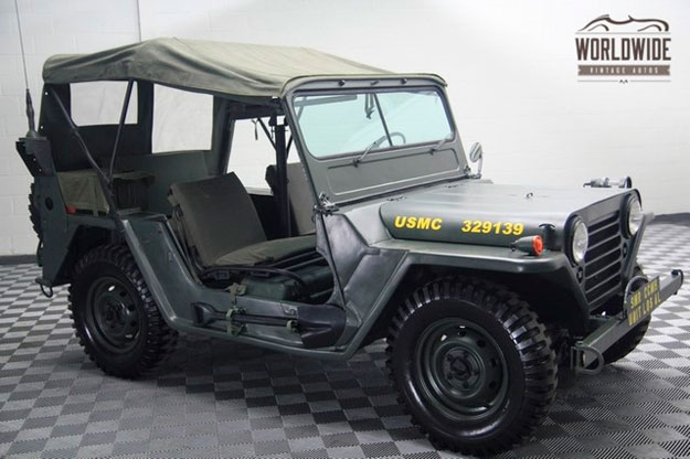 Jeep Willys metralleta delantera
