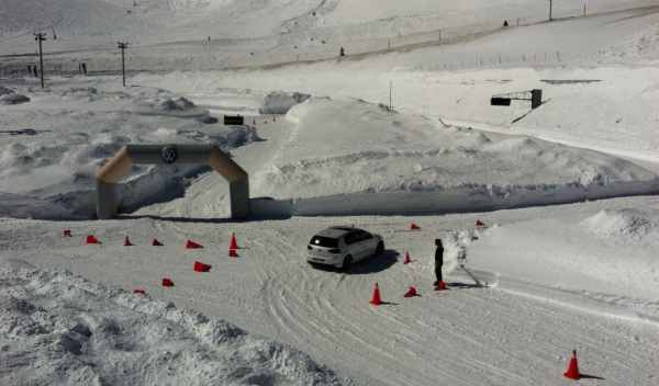 vw driving experience andorra