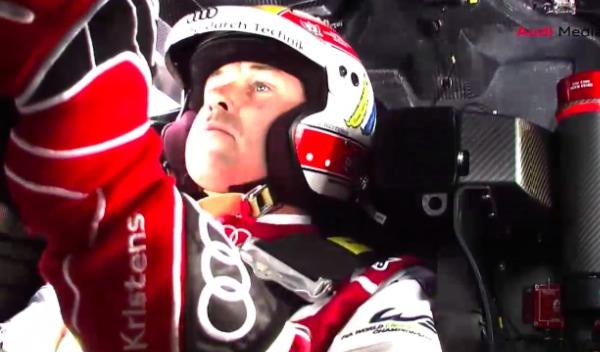 Kristensen Audi R18 Le Mans
