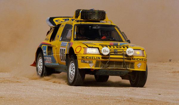 Peugeot 205 Rally Dakar