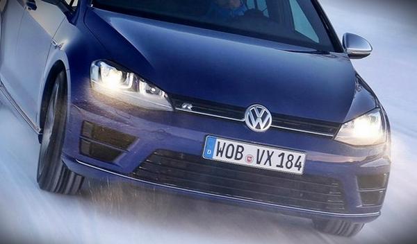 cazan de pruebas a un Volkswagen Golf R Variant