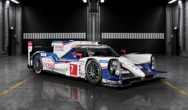Toyota TS040 Hybrid para las 24 Horas de Le Mans 2014