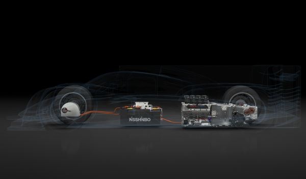 Sistema híbrido del Toyota TS040 de Le Mans 2014
