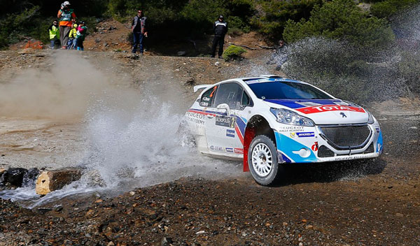 Rally Acropolis Peugeot 208 T16