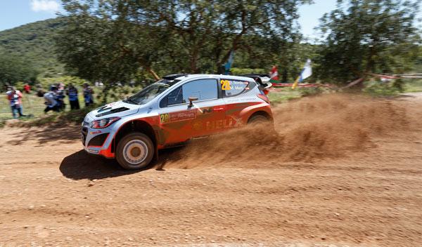 Dani Sordo Rally de Portugal 2014