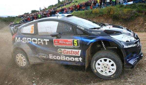 Rally Portugal Hirvonen