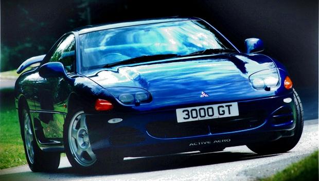 El Mitsubishi 3000GT de los años 90. Un coupé 2+2.
