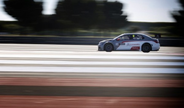 Pole Loeb WTCC 2014 Paul Ricard