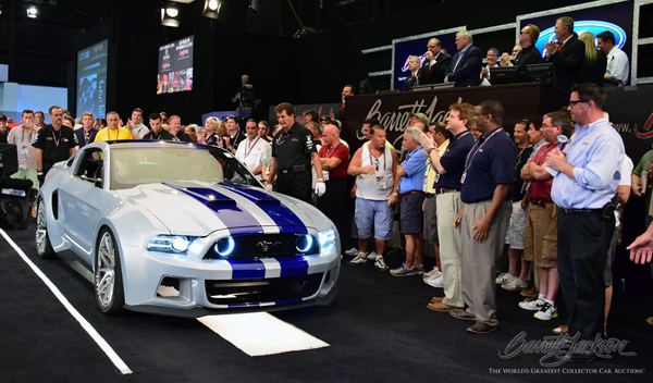 Ford Mustang Need For Speed subasta
