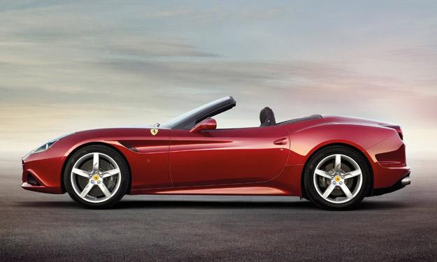 Ferrari California lateral